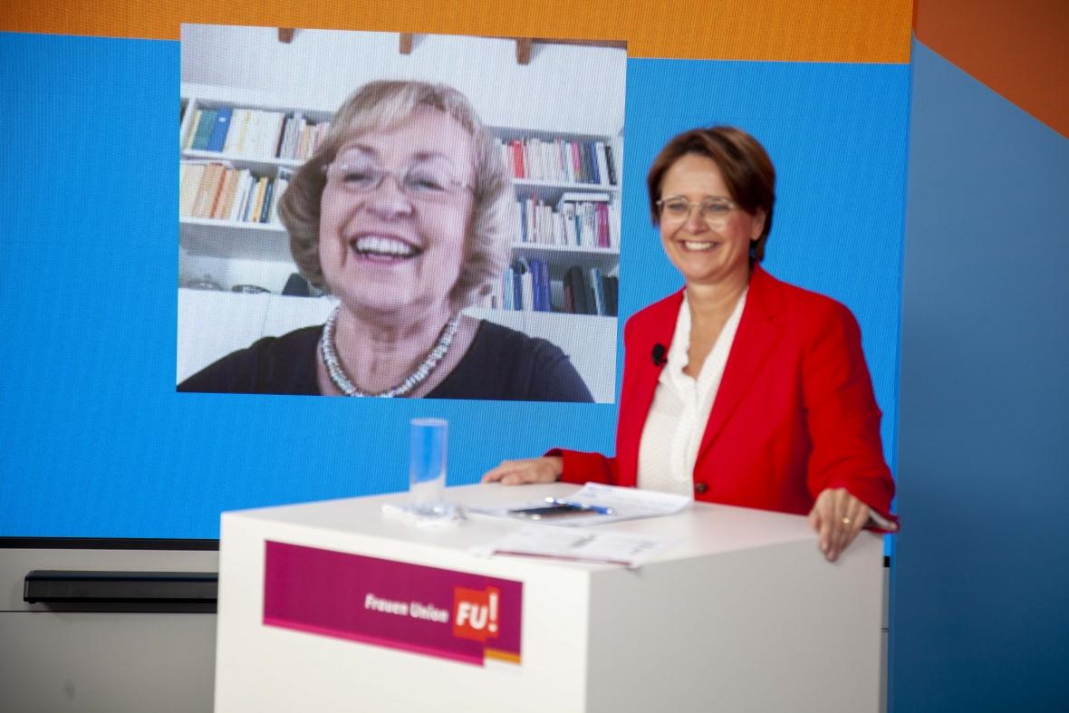 Geburtstagsvideo für die FU-Ehrenvorsitzende Maria Böhmer