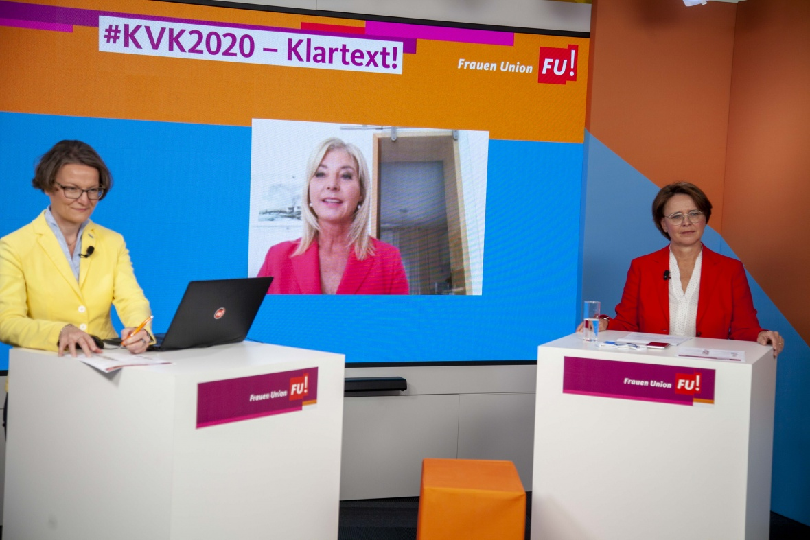Grußwort der Vorsitzenden der Frauen-Union Bayern Ulrike Scharf MdL