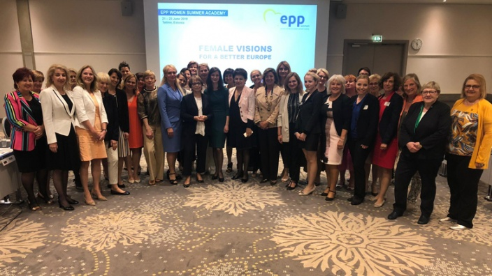 Sommerakademie der EVP-Frauen in Tallinn