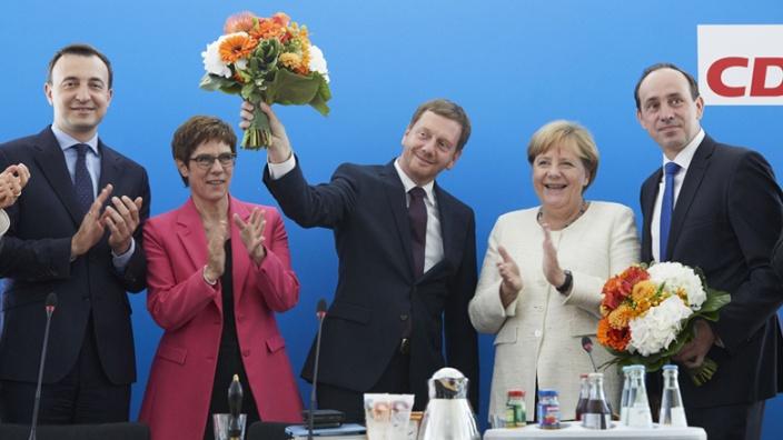 Stärkste Kraft in Sachsen