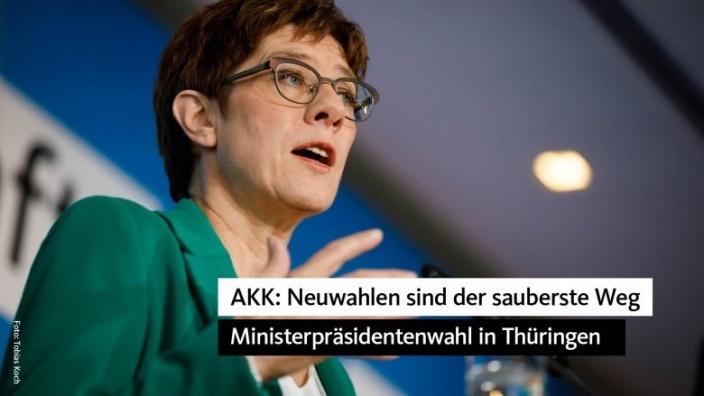Neustart für Thüringen