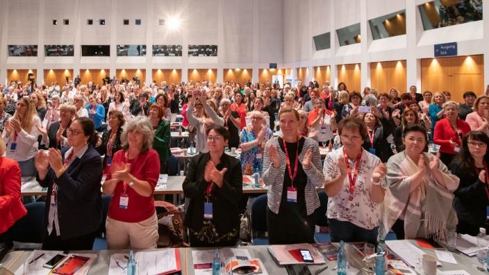 Bundesdelegiertentag des Frauen Union 2019